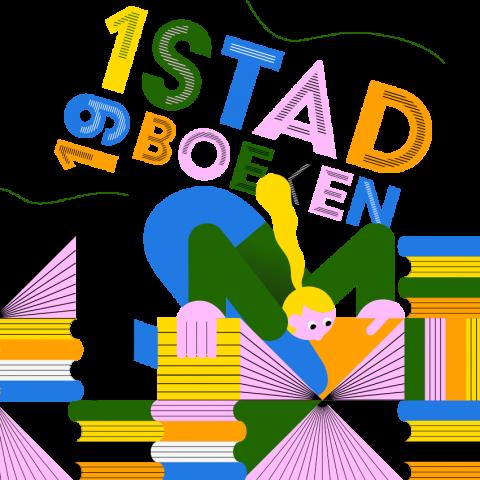 promotiebeeld voor 1 Stad, 19 Boeken
