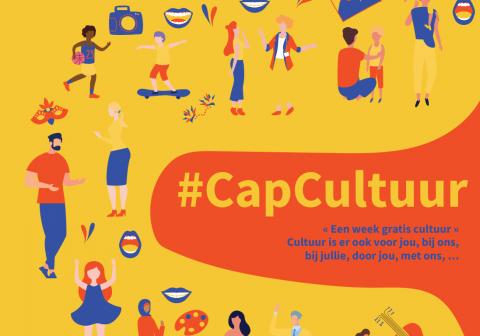 promotieaffiche van #Cap Cultuur